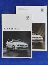 VW Golf GTI Adidas Edition MJ 2011 - Prospekt Brochure + Preisliste 05.2010