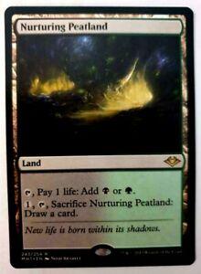 MTG: Modern Horizons 'Nurturing Peatland' - Rare - #243 - VLP