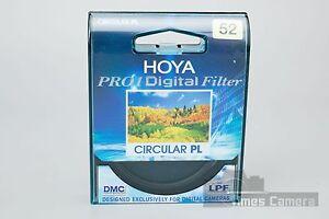 *BRAND NEW* Genuine HOYA 52mm Circular PL CPL Pro1 Digital Filter DMC LPF