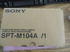 Sony Model: SPT-M104A /1 Black and White Video Camera.  New Old Stock  <