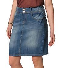 Markenlose knielange Damenröcke für die Freizeit