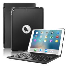 """7 Colors Backlit Bluetooth Keyboard Aluminum Case Cover For iPad Pro 10.5"""""""