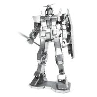 Fascinations ICONX GUNDAM 3D Metal Earth Laser Cut Steel Puzzle Model Kit ICX101