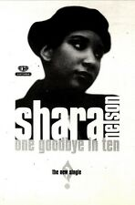 4/9/93PGN50 SHARA NELSON : ONE GOODBYE IN TEN SINGLE ADVERT 7X5""