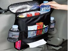 TWIN PACK Car seat back organiser with insulated coolbag VW CAMPER VAN MOTORHOME