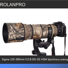 ROLANPRO Lens Clothing Camouflage Rain Cover for Sigma 120-300mm F/2.8 OS Sports