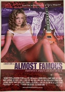ALMOST FAMOUS - Original Aust. Lobby Advance Movie Poster