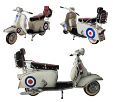Model 1966 lambretta Scooter 200sx Special Tin Plate Ornament with target livery
