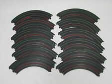"""AURORA TOMY AFX 9"""" 1/4 CURVES ~ 12 PC ~ VN COND ~ CLEAN & READY TO USE!!! #2"""