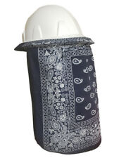 Neck Protector For Hard Hat Neck Shade Bandana Navy Blue