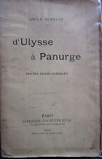 d'Ulysse à Panurge contes Héroï-comiques Emile Gebhart 1902