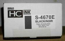 Riso S-4670E ink black schwarz HC ink Risograph für HC 5000 5500  6.2019