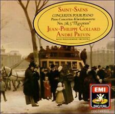 Saint-Sa‰ns: Piano Concertos Nos. 3 & 5 (CD, Sep-1987, EMI Music Distribution)