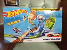 NEW Hot Wheels - Balance Breakout Play Set - Blue FREE Shipping!
