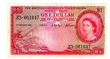 British Caribbean Territories … P-7c … 1 Dollar … 1962 … *F-VF*
