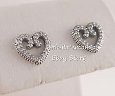 Pandora Women Silver Stud Earrings - 297099CZ XTA2CNp