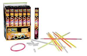 10 PIECES PACK GLOW STICK BRACELET COLLECTION DANCE PARTY LIGHT UPTO 8 HOURS