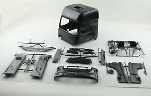 Tamiya Body Parts Mercedes-Benz Actros 1851 Gigaspace Black Edition T2L