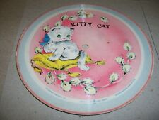 "1948 VOCO 7"" PICTURE DISC RECORD, KITTY CAT / TEN LITTLE INDIANS, 78 RPM (V+/E-)"