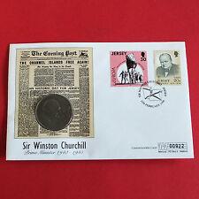 1965 CORONA Churchill su una copertura NUMERATO JERSEY 1996