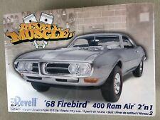 Revell Muscle '68 Firebird 400 Ram Air Car Model Kit Nib