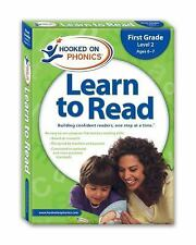 Learn to Read First Grade Level 2 (Hooked on Phonics), , New Book