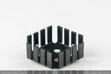 Aluminium Heat Sink For TO-3 Black Anodize Heatsink Heat Dissipation
