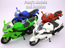 Japanese Sports Motorcycle Collection of 4 different 1/18 Scale Models
