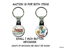 Adventure Time Backpack Fin and Jake set of 2 Key Chains