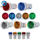 22MM Mini LED Voltmeter Digital Display Voltage Meter Volt Tester DC 6-100V