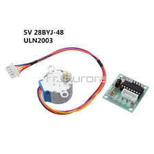 5V Stepper Motor 28BYJ-48 With Drive Test Module Board ULN2003 5V Line 4 Phase