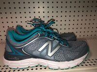 New Balance 560v6 Womens Athletic Running Training Shoes Size 9 Gray Blue
