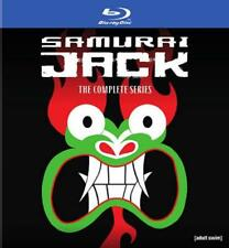 SAMURAI JACK: THE COMPLETE SERIES BOX SET NEW BLU-RAY DISC