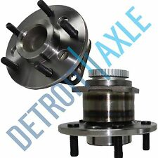 Set (2) New REAR Wheel Hub and Bearing Assembly for Buick Olds Pontiac w/ ABS