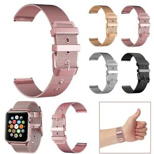 For Apple Watch Series 5 4 3 2 40/44mm 38/42mm Stainless Steel iWatch Band Strap