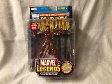 NIB 2002 Toy Biz Marvel Comics Legends Series 1 Iron Man