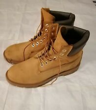 Timberland MEN'S 18094 WATERPROOF BOOTS  100% Leather Size 9.5 M