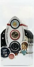 2019 Rocketship 2 coin set w/government packaging PL Kennedy (5 Pack)
