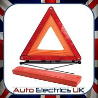 NEW Emergency Warning Triangle reflective car travel + CASE - LONDON STOCK
