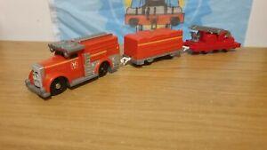 2010 Fiery Flynn & Trucks, Trackmaster Tomy Thomas Friends Tank Engine