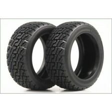 Kyosho Genuine Parts KYOTRT121 TRT232 Kyosho Rally Tire (2) 1 Pair Kyosho DRX