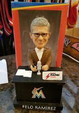 NIB RARE Florida Miami Marlins Felo Ramirez Talking bobblehead CUBA MLB HOF