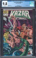 KA-ZAR THE SAVAGE (1982) #27 CGC 9.8 NM/MT WP WRAPAROUND COVER