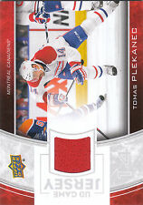 2013/14 Upper Deck Game Jersey Tomas Plekanec jersey card Montreal Canadiens