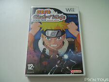 NINTENDO Wii / Naruto Clash of Ninja Revolution Eur Version [Pal version]