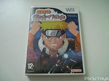 ►►►► NINTENDO Wii / Naruto Clash of Ninja Revolution Eur Version [Pal version]