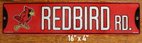 Street Sign Redbirds Rd. NCAA Lic.colorful picture Illinois State University