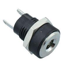 2 x 1.3mm x 3.5mm Panel Mount DC Power Socket