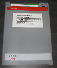 Werkstatthandbuch Audi A4 B5 5 und 6 Gang Schalt Getriebe 01E Frontantrieb 1998