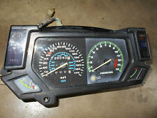 kawasaki zx750 zx750f ninja 750r speedomater dash gauges panel 1988 87 88 89 90